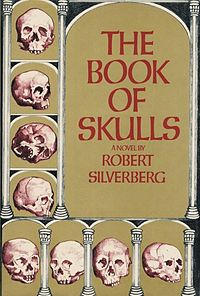 The cover of the book, adorned with not surprisingly, a number of skulls.