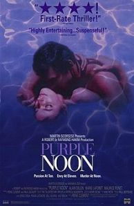 The poster for the film features Delon and Laforet.