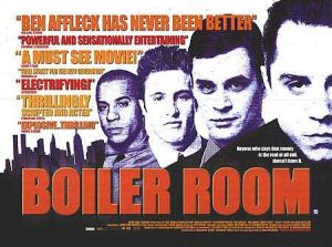 A blurb-laden lobby card for the film featuring cast members Vin Diesel, Nicky Katt, and Ben Affleck. No sign of main character Giovanni Ribisi.