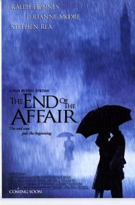 Two lovers kissing under an umbrella in a rainstorm grace the film's poster.