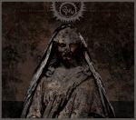 The cover to Gris' 2013 release features an ancient statue with the band logo and album title above it.