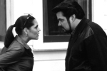 Mary McCarthy and Oliver Platt in a still from the film.