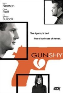 Poster for the film featuring stars Neeson, Platt, and Bullock, in descending orderof picture size.