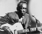 Publicity photo of John Lee Hooker from the forties.
