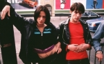 Argento and Rhys Myers in a still from the film.