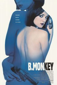 A nude, gun-toting Asia Argento adorns the movie poster.