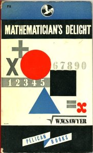 Various mathematical symbols decorate the book cover.