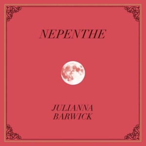 The moon on a red background decorates the album cover.