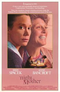 Spacek and Bancroft share space on the poster for the film.