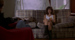 Laura San Giacomo is interviewed for James Spader's collection in this still from the film.