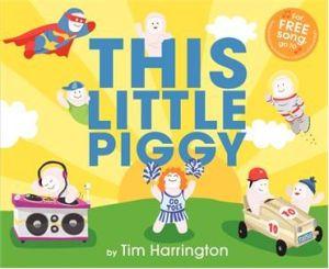 "A number of ""alternative"" piggies adorn the book's cover."