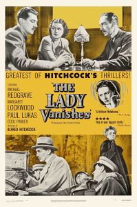 Two scenes from the movie adorn this early poster.