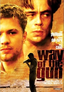 Ryan Phillippe and Benicio del Toro dominate the film's poster.