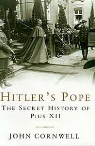 Pius XII heads for a meeting with Der Führer on the book's cover.