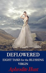 A model in a rapidly-disintegrating dress of flower petals adorns the book cover.