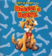 Digger, happily reunited with his bone, decorates the book's cover.