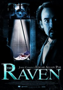 John Cusack looks over his shoulder in a dimly-lit room on the movie poster.
