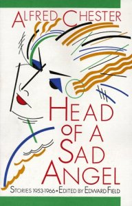 An artist's rendition of the head of a sad angel adorns the book's cover.
