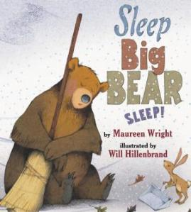 The titular bear taking a nap holding a broom decorates the ebook cover.