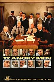 The 12 men of the title pose for a photo on the DVD cover.