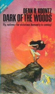 A woman perches atop a rocky point on the book's cover.