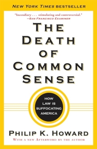 The title, on a white cover with yellow trim.