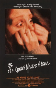 The main character has a horrified look on the movie poster.