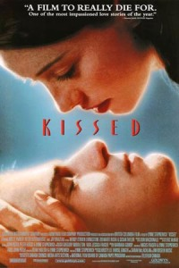 Molly Parker comes in close for a liplock with her newest dead boyfriend on the movie poster.