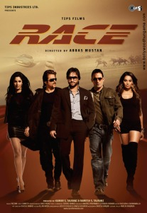 The principal cast against a wide-open-space backdrop adorns the movie's poster.