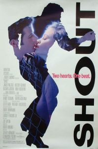 Jamie Walters and Heather Graham about to go into a liplock decorate the movie poster.