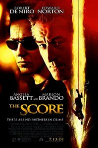 Edward Norton and Robert DeNiro overshadow the rest of the principal cast on the movie poster.