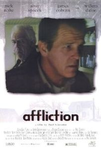 Nick Nolte walks away from James Coburn on the movie poster.