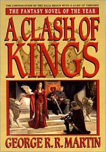 Characters deliver oaths of fealty on the book's cover.