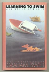 A toy ship sinks on the cover of the book.