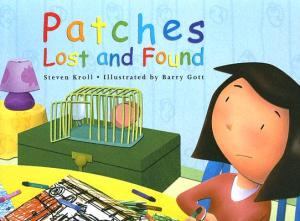 Jenny laments the loss of her pet on the book's cover.