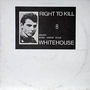 A photo of serial killer Dennis Nilsen, and the title of the album, on a white background.