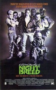 Craig Sheffer is surrounded by a number of inhabitants of Midian on the movie poster.