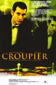 Clive Owen stands before a roulette wheel on the movie's poster.