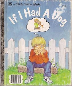 The book's narrator dreams about having a dog of his own on its cover.