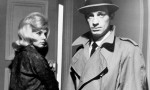 Monique Hennessy and Jean-Paul Belmondo in Jean-Pierre Melville's Le Doulos. Photo courtesy Rialto Pictures