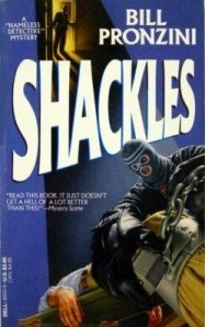 A masked assailant shackles nameless on the book's cover.