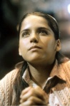 Ana Maria Talancon prays in a still from the film.