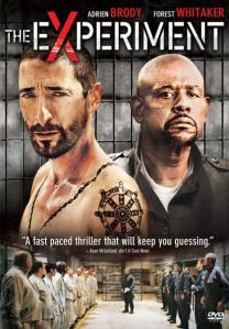 Adrien Brody, shirtless, and a uniformed Forest Whitaker dominate the movie poster.