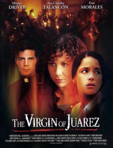The three principal cast members' faces photoshopped onto a generic background adorn the movie poster.