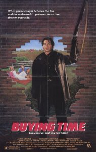 Jabber stands in front of a hole in a brock wall brandishing a rifle on the movie poster.