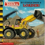 A loader addresses a large pile of gravel on the book cover.