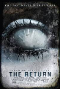 A hand pushes out against an eyeball on the movie poster.