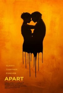 The shadowy torsos of two people embracing merge and drip like wax on the movie's poster.