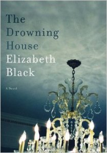 A chandelier mounted in a blue ceiling adorns the cover of the book.