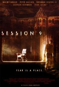 An ancient wheelchair sits in a shaft of light in a long-abandoned room on the movie poster.